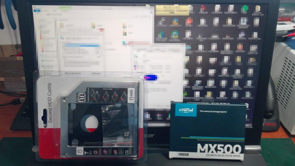 (1) Drugi dysk SSD