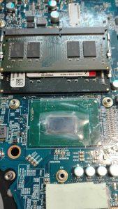 (1) Temperatura procesora 100C